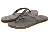 Ugg Kayla Charcoal Leather Women's Sandals Green