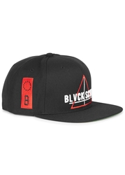 Black Scale Team Blvck Black Snapback Cap