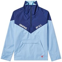 Human Made Mountain Pullover Jacket Blue