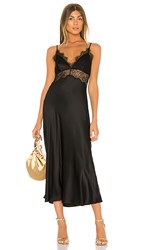 Cami Nyc The Tucker Dress In Black.