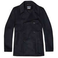 Fred Perry Made In England Pea Coat Blue