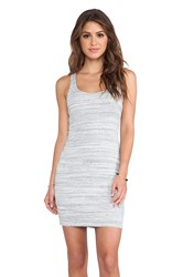 Dolan Racerback Tank Dress Gray