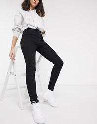 Cheap Monday High Spray Skinny Jeans Black