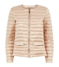Polo Ralph Lauren Quilted Round Neck Puffer Jacket Pink