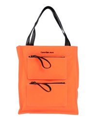 Calvin Klein Jeans Handbags Orange