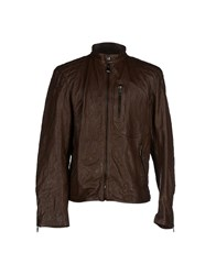 Ralph Lauren Black Label Coats And Jackets Jackets Men Dark Brown
