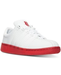 K Swiss Men's Classic Vn Reflect Ice Casual Sneakers From Finish Line White Red Ice