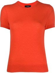 Theory Short Sleeve Fine Knit Top 60