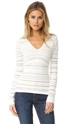 Bailey 44 Bailey44 Niki Bandage Knit Sweater Cream