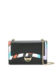 Emilio Pucci Colour Block Mini Bag Black