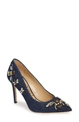 Sam Edelman Women's Hazel Pointy Toe Pump Navy