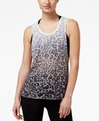 Material Girl Active Juniors' Cutout Back Burnout Tank Top Only At Macy's