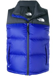 The North Face Padded Waistcoat Blue