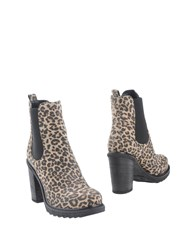Luciano Padovan Ankle Boots Sand