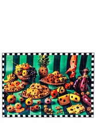Seletti Food With Holes Rug Multicolor