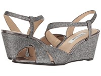 Nina Ellora Charcoal Women's Wedge Shoes Gray