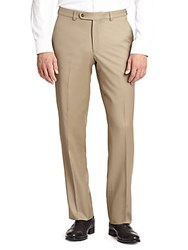 Jack Victor Collection Wool Dress Pants Tan