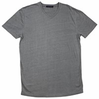 Lords Of Harlech Patriot Tee In Charcoal Grey