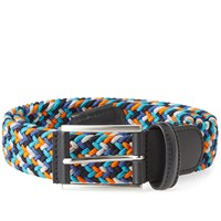 Andersons Anderson's Woven Textile Belt Blue