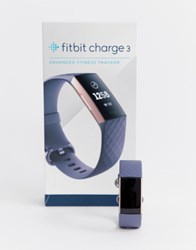Fitbit Charge 3 Smart Watch In Grey