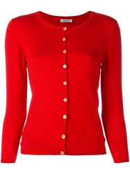P.A.R.O.S.H. Classic Cardigan Red