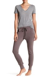 Barefoot Dreams Lounge French Terry Pant Gray
