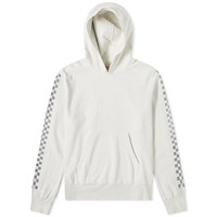Remi Relief Checkerboard Taped Hoody White