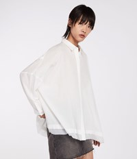 Allsaints Katia Shirt Chalk White