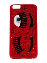 Chiara Ferragni 'Flirting' Iphone 6 6S Plus Case Red