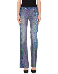 Roberto Cavalli Denim Denim Trousers Women Purple