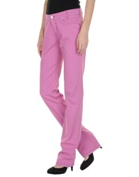 Brooksfield Casual Pants Light Purple