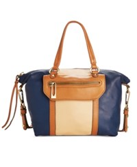 Sanctuary Soft Hero Satchel Indigo Honey
