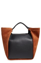 Givenchy Show Real Leather And Suede Tote