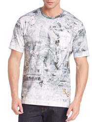 Robert Graham Abstract Printed T Shirt Multicolor