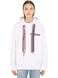 Ambush Oversized Multi Drawstring Sweatshirt White