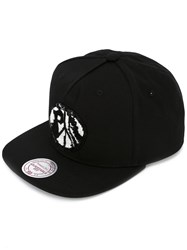 Palm Angels Beaded Cap Black
