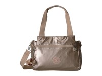 Kipling Elysia Satchel Sparkly Gold Satchel Handbags