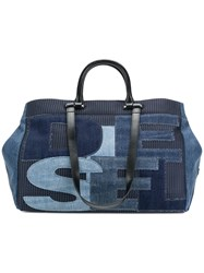 Diesel All You Can Carry Tote Blue