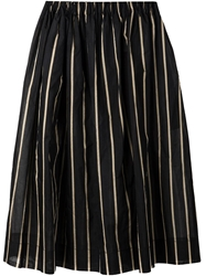 Uma Wang Striped Full Skirt
