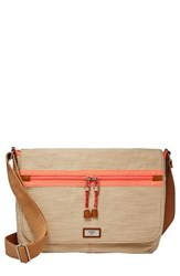 Fossil 'Blake' Canvas Messenger Bag