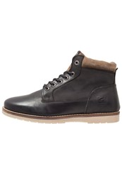 Redskins Babylone Laceup Boots Noir Taupe Black