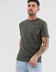 Voi Jeans Basic T Shirt Green