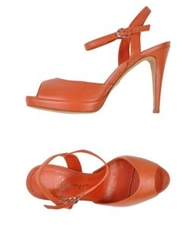 Eva Turner Sandals Rust