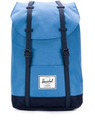 Herschel Supply Co. Retreat Contrasting Strap Backpack Blue