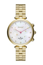 Kate Spade 'S Holland Hybrid Bracelet Watch 34Mm No Color