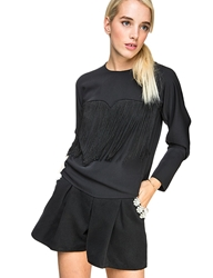 Pixie Market Kate Fringe Shirt