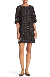 Kate Spade Women's New York Sequin Dot Shift Dress