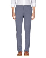 Obvious Basic Casual Pants Dark Blue