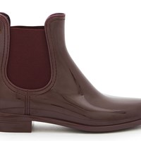 Lemon Jelly Ascot Ankle Boots Wine