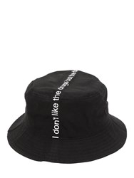 Famt Fuck Art Make Tees I Don't Like Drugs But Drugs Like Me Hat Black